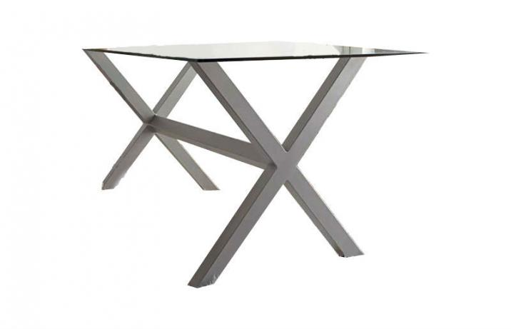 Arte forja diego ramos m505 mesa de forja artesanal c rdoba con patas en aspas - Patas de forja para mesas ...